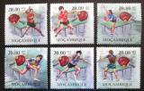 Poštovní známky Mosambik 2010 Stolní tenis Mi# 3705-10 Kat 8€