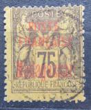 Poštovní známka Madagaskar 1895 Koloniální alegorie přetisk Mi# 20 Kat 55€