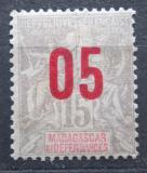 Poštovní známka Madagaskar 1912 Koloniální alegorie přetisk Mi# 91 I