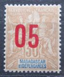 Poštovní známka Madagaskar 1912 Koloniální alegorie přetisk Mi# 93 I