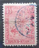Poštovní známka Madagaskar 1903 Fauna a flóra Mi# 64