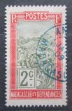 Poštovní známka Madagaskar 1908 Přeprava na nosítkách Mi# 75