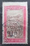 Poštovní známka Madagaskar 1908 Přeprava na nosítkách Mi# 78
