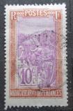 Poštovní známka Madagaskar 1925 Přeprava na nosítkách Mi# 151