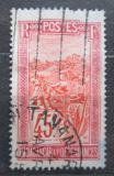 Poštovní známka Madagaskar 1925 Přeprava na nosítkách Mi# 158