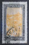 Poštovní známka Madagaskar 1925 Přeprava na nosítkách Mi# 161