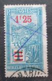 Poštovní známka Madagaskar 1926 Přeprava na nosítkách přetisk Mi# 175