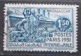 Poštovní známka Madagaskar 1931 Koloniální výstava v Paříži Mi# 206