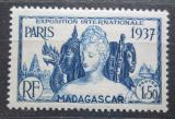 Poštovní známka Madagaskar 1937 Mezinárodní výstava v Paříži Mi# 245