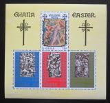 Poštovní známky Ghana 1974 Velikonoce Mi# Block 54