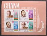 Poštovní známky Ghana 1969 Mezinárodní rok lidských práv Mi# Block 35