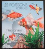 Poštovní známka Burundi 2012 Ryby Mi# Block 281 Kat 9€