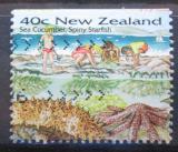 Poštovní známka Nový Zéland 1996 Mořské hvězdice Mi# 1488