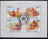 Poštovní známky Komory 2009 Pravěký člověk Mi# 2722-25 Kat 9€