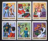 Poštovní známky Adžmán 1971 Pohádky bratří Grimmů Mi# 1033-38