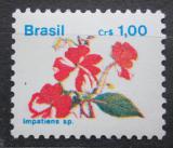 Poštovní známka Brazílie 1989 Netýkavka žláznatá Mi# Mi# 2305