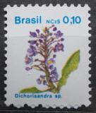 Poštovní známka Brazílie 1989 Dichorisandra Mi# Mi# 2307