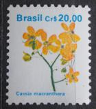 Poštovní známka Brazílie 1990 Cassia macranthera Mi# Mi# 2356