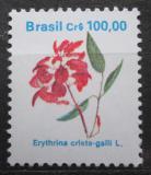 Poštovní známka Brazílie 1990 Lilek višňový Mi# Mi# 2373