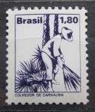 Poštovní známka Brazílie 1978 Získávání karnaubského vosku Mi# Mi# 1647