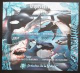 Poštovní známky Burundi 2012 Velké ryby Mi# Mi# 2595-98 Kat 9.50€