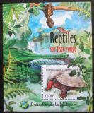 Poštovní známka Burundi 2012 Obojživelníci a plazi Mi# Mi# Block 236 Kat 9€