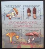 Poštovní známky Burundi 2012 Houby Mi# Mi# 2738-41 Kat 10€