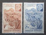 Poštovní známky Madagaskar 1941 Maršál Philippe Pétain Mi# Mi# 270-71