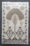 Poštovní známka Madagaskar 1943 Strom cestovatelů Mi# Mi# 350