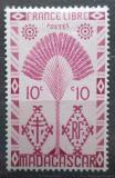 Poštovní známka Madagaskar 1943 Strom cestovatelů Mi# Mi# 351