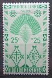 Poštovní známka Madagaskar 1943 Strom cestovatelů Mi# Mi# 352