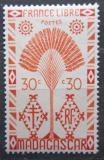 Poštovní známka Madagaskar 1943 Strom cestovatelů Mi# Mi# 353