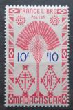 Poštovní známka Madagaskar 1943 Strom cestovatelů Mi# Mi# 362