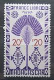 Poštovní známka Madagaskar 1943 Strom cestovatelů Mi# Mi# 363