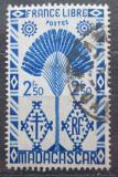Poštovní známka Madagaskar 1943 Strom cestovatelů Mi# Mi# 359