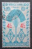 Poštovní známka Madagaskar 1943 Strom cestovatelů Mi# Mi# 360