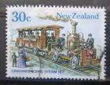 Poštovní známka Nový Zéland 1985 Historická tramvaj Mi# Mi# 920