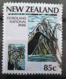 Poštovní známka Nový Zéland 1987 NP Fiordland Mi# Mi# 998