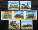 Poštovní známky Paraguay 1983 Lokomotivy Mi# 3579-85 Kat 8.50€