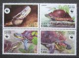 Poštovní známky Laos 2004 Želva amboinská, WWF Mi# 1927-30 Kat 10€