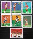 Poštovní známky Paraguay 1986 Tenis Mi# 4029-35 Kat 7.50€