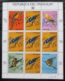 Poštovní známky Paraguay 1983 Ptáci Mi# 3674 Bogen Kat 30€