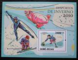 Poštovní známka Guinea-Bissau 2010 Zimní sporty Mi# Block 745 Kat 14€