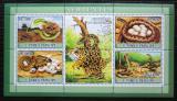 Poštovní známky Svatý Tomáš 2007 Hadi, skauting Mi# 3024-27 Kat 12€