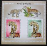 Poštovní známky Guinea-Bissau 2010 Jaguár americký Mi# Block 877 Kat 12€