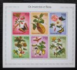 Poštovní známky Guinea-Bissau 2010 Hmyz a flóra Mi# 5081-86 Kat 15€