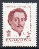 Poštovní známka Maďarsko 1961 József Katona, dramatik Mi# 1807