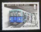 Poštovní známka Maďarsko 1970 Metro Mi# 2577