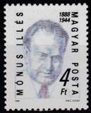 Poštovní známka Maďarsko 1988 Illés Mónus, politik Mi# 3954
