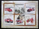 Poštovní známky Guinea-Bissau 2010 Hasičská auta Mi# 4714-18 Kat 13€